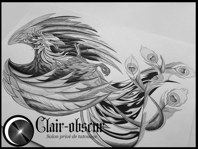 Kleurplaten Prive Chat Clair Obscur Salon Priv 233 De Tatouage Tatouage Unique Et